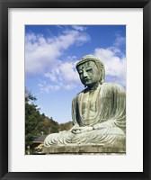 Framed Statue of Buddha, Kamakura, Japan
