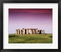 Framed Stonehenge, Wiltshire, England
