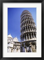 Framed Leaning Tower  Pisa, Italy