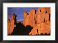 Framed Arches National Park Utah USA