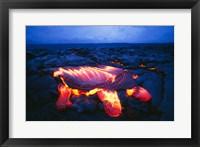 Framed Kilauea Volcano Hawaii Volcanoes National Park Hawaii USA