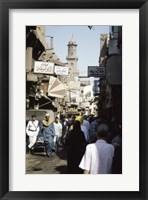 Framed Marketplace Cairo Egypt