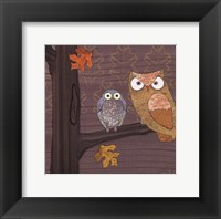 Awesome Owls IV Framed Print