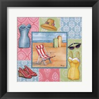 Framed Beach Wear II