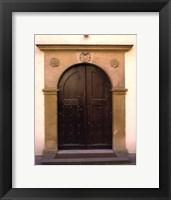 Framed Prague Door II
