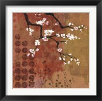 Framed Japanese Branch Floral