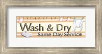 Framed Wash & Dry