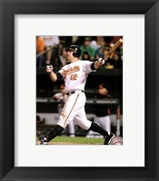 Framed Mark Reynolds 2011 Action