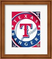 Framed 2011 Texas Rangers Team Logo