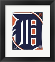 Framed 2011 Detroit Tigers Team Logo