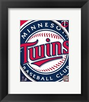 Framed 2011 Minnesota Twins Team Logo