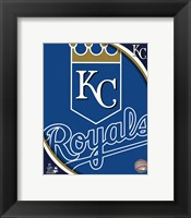 Framed 2011 Kansas City Royals Team Logo