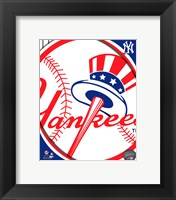 Framed 2011 New York Yankees Team Logo