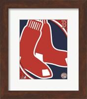 Framed 2011 Boston Red Sox Team Logo