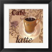 Framed Café Latte