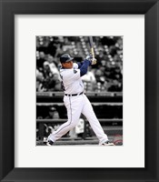 Framed Miguel Cabrera 2011 Spotlight Action