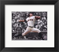 Framed Tim Lincecum 2011 Spotlight Action
