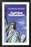 Framed Curb Your Enthusiasm - Statue of Liberty