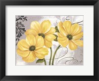 Colori Yellow I Framed Print