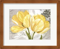Framed Colori Yellow II