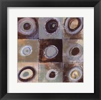 Framed Abstract Earth I - mini