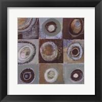 Framed Abstract Earth II - mini