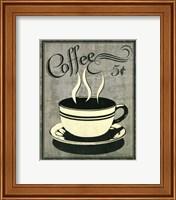 Framed Retro Coffee I