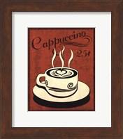 Framed Retro Coffee III