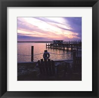 Framed Dockside Park I