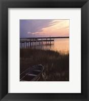 Channel Sunset III Framed Print