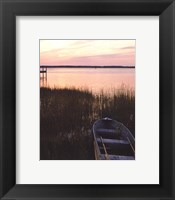 Framed Channel Sunset IV