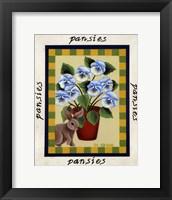 American Flowers I Framed Print
