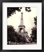 Framed Eiffel Tower I