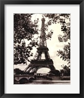 Framed Eiffel Tower II