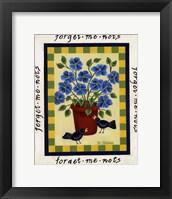 American Flowers II Framed Print
