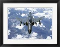Framed McDonnell Douglas  F-4E Phantom II  Jet Fighter