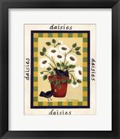 Framed American Flowers IV