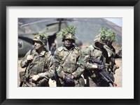 Framed Camouflage, U.S. Marines