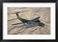 Framed Lockheed C-141B Starlifter Cargo Plane