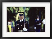 Framed US Army Honor Guard