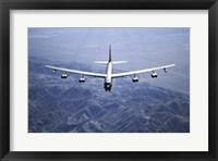 Framed B-52 Bomber