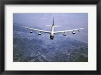 Framed U.S. Air Force B-52 Bomber