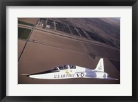 Framed U.S. Air Force T-38 Trainer