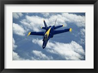 Framed Blue Angels F-18 Hornet