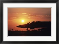 Framed F-45 Phantom US Armed Forces