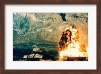 Framed Missile hitting an M47 Tank