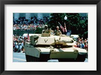Framed 1A1 Ambrams Main Battle Tank