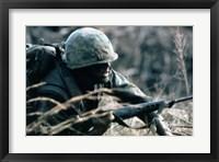 Framed Combat Ready Marine Holds