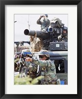 Framed South Korea, Soldiers Spot a Target