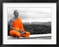 Framed Abbot of Watkun Meditating